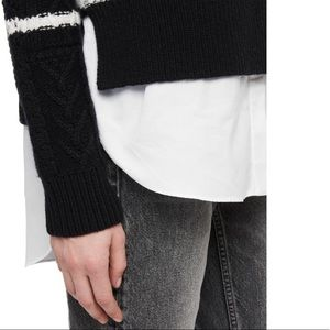 AllSaints Mari Roll Neck Jumper
